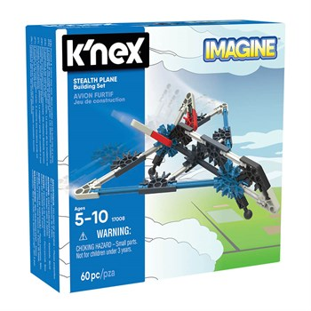 KNEX Imagine Stealth Plane Building Set 17008