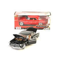Metal Motormax 1955 Chrysler C300 1:24