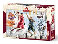 Art Puzzle Streetball 1000 Parça Puzzle HD 4380