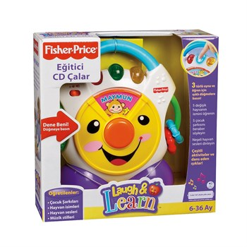 Fisher Price Eğitici Cd Çalar N3837