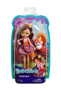Enchantimals Ana Karakter Bebekler Felicity Fox & Flick DVH87-DVH89