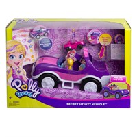 Polly Pocket ve Arabası Oyun Seti FWY26