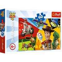 Trefl Puzzle Toy Story, Made For Playing 60 Parça HD 17325