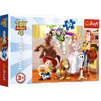 Trefl Puzzle Toy Story, Ready To Play 30 Parça Puzzle HD 18243